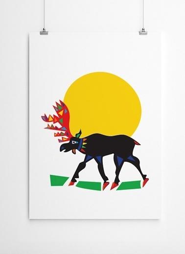 Geyik Poster-Fabl